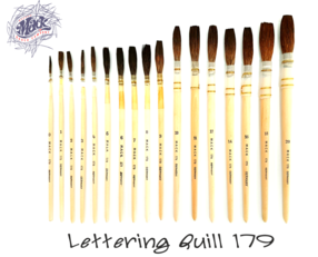 Lettering Quill 179