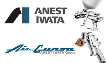 Iwata / Air Gunsa spuitpistolen