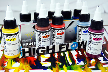 Golden High Flow sets 30ml