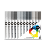 Molotow Aqua Brush Grey Set (12)_