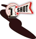 One Shot Medium Brown Spuitbus_