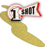 One Shot Metallic Brass Spuitbus_