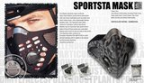 Respro Sportsta Camo Grey/Black M_