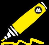 zinc yellow 15mm