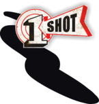 One Shot Dark Brown Spuitbus