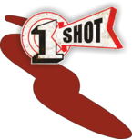 One Shot Kool Crimson Spuitbus