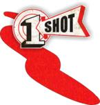 One Shot Vermillion Spuitbus