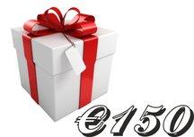 Kadobon €150,-