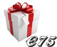Kadobon €75,-
