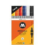 MOLOTOW ONE4ALL Acrylic Twin Marker Basis set 2