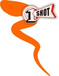 One Shot Art & Poster Colors Orange 237ml