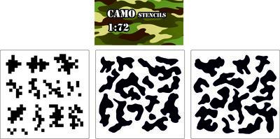 Camo Stencil 1:72