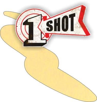 One Shot Chamois 237ml