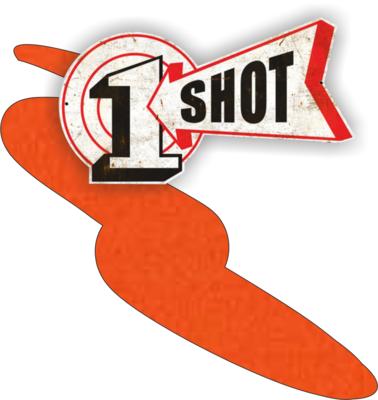One Shot Orange 237ml