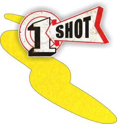 One Shot Primrose Yellow 237ml