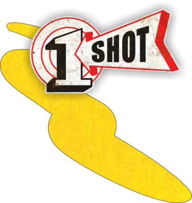One Shot Lemon Yellow 237ml