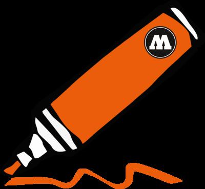DARE orange 15mm