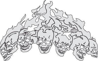 Artool Hot-Headz Hell Riders