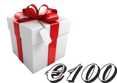 Kadobon €100,-