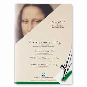 Schoellershammer Airbrush papier 350x250mm 20 vellen