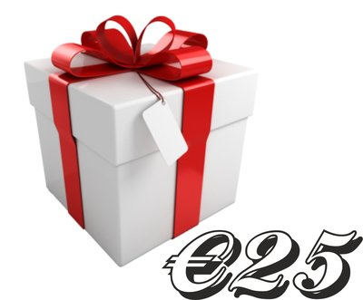 Kadobon €25,-