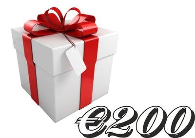 Kadobon €200,-