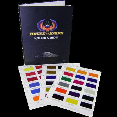House of Kolor S2 kleuren boek