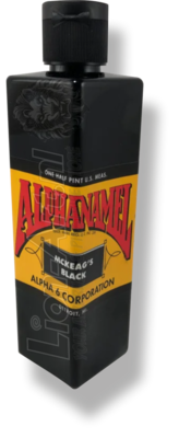 ALPHANAMEL DARREN MCKEAG'S BLACK 118ml 4oz
