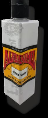 ALPHANAMEL ALPHA WHITE 236ml 8oz