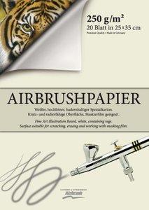 Airbrush papier 350x250mm 20 vellen