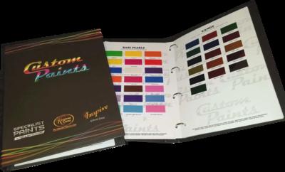 Specialist Paints kleurenboek