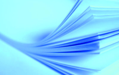 Microscale Trim Film Waterslide Decal papier 8 micron transparant laser A4 (blue backing)