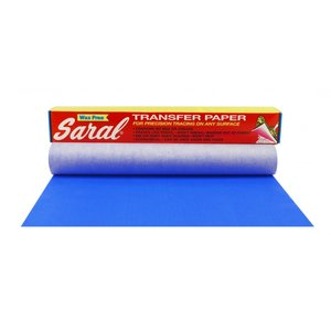 Saral Paper blauw