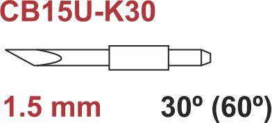 Graphtec plotter mes 60º 1,5mm