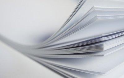 Waterslide Decal papier wit inkjet A4